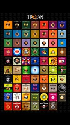 70 Complete Rare Trojan Box Set Cd Collection Mp3 On Dvd  Reggae Skinhead Ska