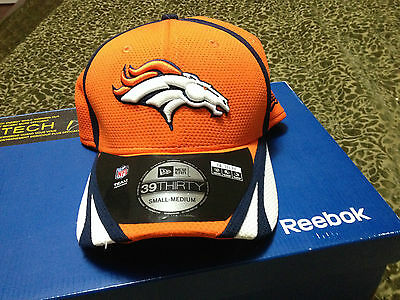 NFL Denver Broncos New Era Hat Orange 39 Thirty Cap Mens Small-Medium Football