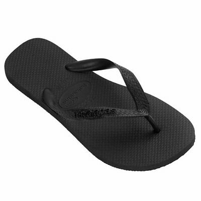 Havaianas Top Thongs- Black Mens Ladies Flip Flops