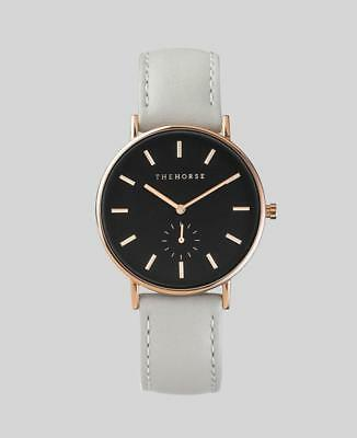 The Horse Classic Watch- Rose Gold/Black/Grey
