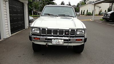 1982 Toyota Other SR5 1982 Toyota Pickup SR5 4X4 Pickup Long Bed