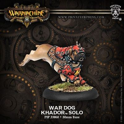 Warmachine: Khador - War Dog - New - Nerdy Nerd