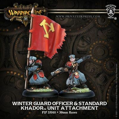 Warmachine: Khador - Winter Guard Officer - New - Nerdy Nerd