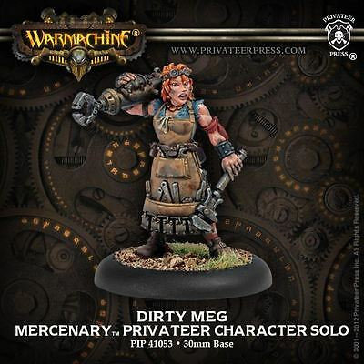 Warmachine: Mercenaries - Dirty Meg - New - Nerdy Nerd