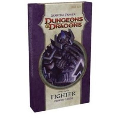 Dungeons & Dragons - Fighter Power Cards - Nerdy Nerd