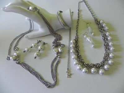 Small Lot Fashion Jewelry Vintage Whiting & Davis Bracelet