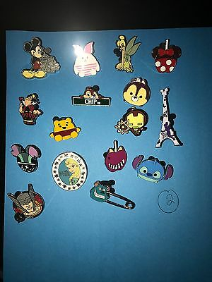 Disney Pins Lot of 20 Trading - Top/ Hot Pin Choices! Larger Sought After Pins