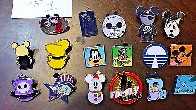 Disney Pins Lot of 20 Trading Trader Pins Mickey , Donald And More!