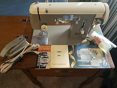 HEAVY DUTY PFAFF 139 Sewing Machine for LEATHER & UPHOLSTERY + (((VIDEO DEMO)))
