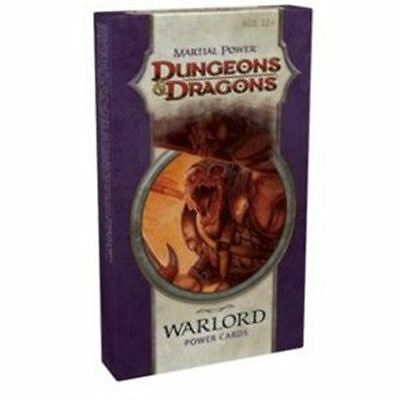 Dungeons & Dragons - Warlord Power Cards - Nerdy Nerd