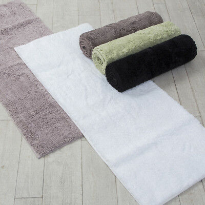 New Pillow Talk Microplush Tufted Bath Runner
