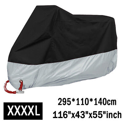 XXXXL Motorcycle Cover Waterproof Rain For Harley Davidson Street Glide Touring