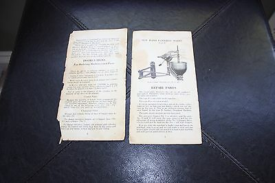 "BELSHAW BROS. INC. ""sanitary doughnut machines""  Vintage 1954 Brochure"