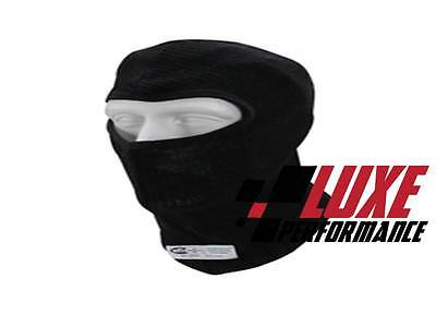 SFI APPROVED Fireproof NOMEX  BLACK BALACLAVA Race - Speedway -DRAG -Jetsprints