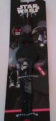 1 x STAR WARS WATCH, Led, Touch Screen to View, Tri-mode Display, Collectors