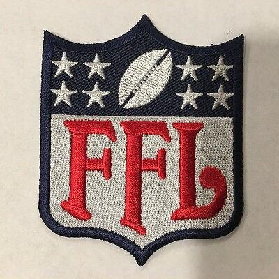 Fantasy Football League FFL Patch for Jersey Trophy Champion Shirt Hoodie Award