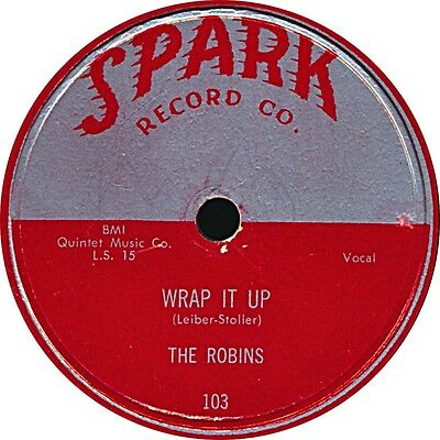 Doo-Wop - The Robins - Wrap it up / Riot in Block #9 - 1954