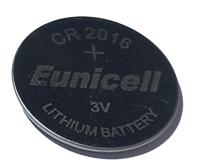 10 x CR2016 3V Lithium Knopfzelle 70 mAh lose Markenware Eunicell