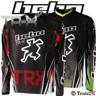 HEBO TRX Competition Trials Riding Shirt - Available in 2 Colour Ways