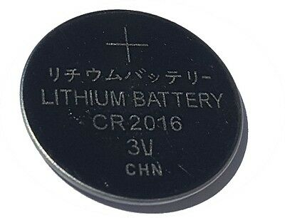 1 x CR2016 3V Lithium Knopfzelle 75 mAh lose Markenware PKCELL