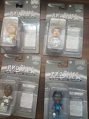 CORINTHIAN Prostars one world one game one collection platinum figures set of 4
