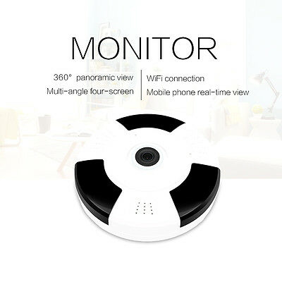 Mini 360 Degree Wireless IP Camera Fisheye night vision 1080P HD wifi Panoramic