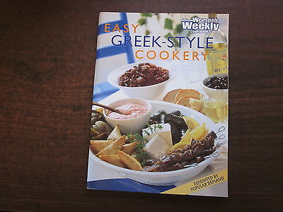 Australian Women's Weekly EASY GREEK-STYLE COOKERY Cookbook Softcover