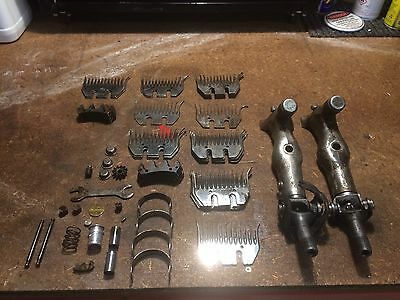 Old Shearing Hand Pieces Combs Cutters Sunbeam Cooper