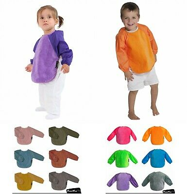 Mum 2 Mum Large Sleeved (18m-3yrs) Wonder Bib X 2 BIBS, Coverall Bib Weaning Bib