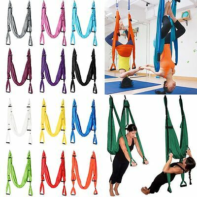 Volare Yoga Swing ANTI-GRAVITY Yoga Hammock Aerial inversione Cinghia 250kg