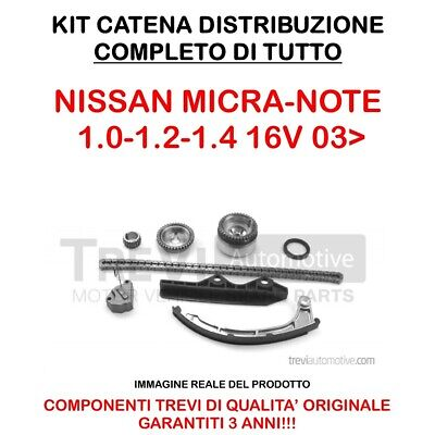 Kit Distribuzione A Catena Nissan Micra 1.0-1.2-1.4(K12E) Note 1.4 06> Kc1024