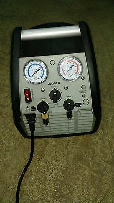Javac XTR-ULTRA Refrigerant Recovery Machine 18 mnths old, Little Used £550