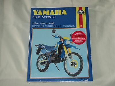 Haynes Yamaha RD & DT125 LC 1982 to 1987 Workshop Manual New Sealed