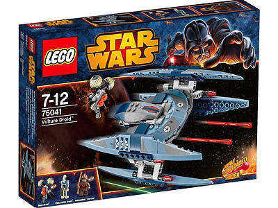 LEGO Star Wars Vulture Droid (75041)  - New and Sealed - Retired