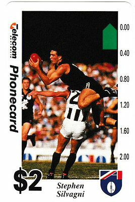 ****  TELECOM - $2 Telearch  Phonecard -  Stephen  Silvagni SUPERB MINT