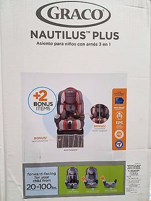 Graco Nautilus 3-in-1 Car Seat with 2 Bonus Items-Rust Pattern