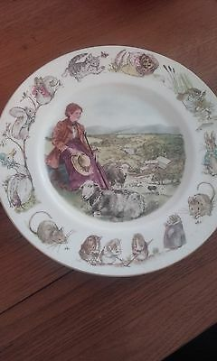 Very rare Beatrix Potter Wedgewood plate - limited edition National Trust.