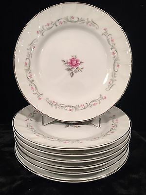 Royal Swirl by FINE CHINA OF JAPAN 7 Bread & Butter Plates