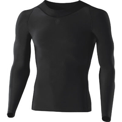 Skins RY400 Recovery long sleeve top Size XS Graphite
