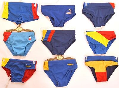 Baby Boys Swimming Swim Trunks Briefs Age 6-9 9-12 12-18 Months 2-3 Years (A72)
