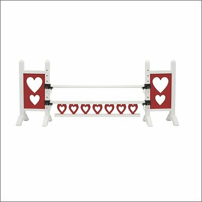 Model Horse Jumps Mighty Minis Hearts Love NEW Riding Play Toy Equestrian Gift