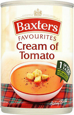 Baxters Favourites Cream of Tomato Soup  3 x 400g