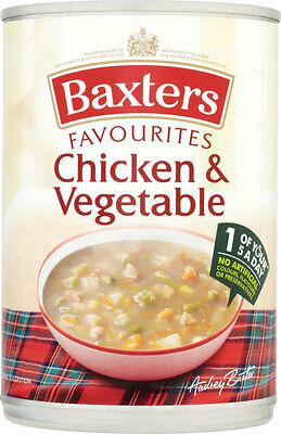 Baxters Favourites Chicken & Vegetable Soup   3 x 400g