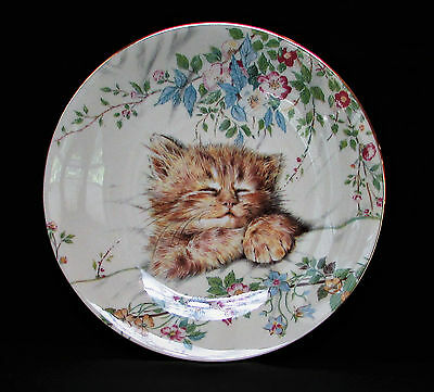 "Royal Worcester 'Cat Nap' Plate from ""Kitten Classics Collection"" by Hamilton"