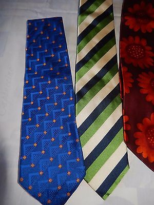 Lotto Cravatta Seta Valentino Boss Ferre Coveri Vintage Ties