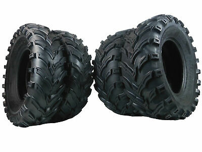 New MASSFX ATV Tire 4 set (2) 25x10-12 (2) 25x8-12 6 PLY 25X10x12 25x8x12