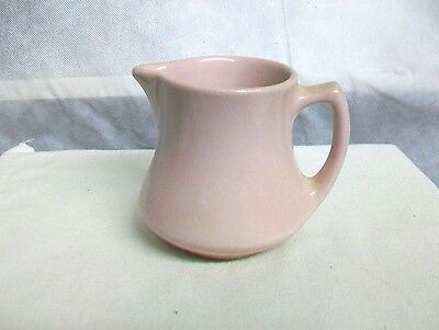 "*PSALE 1950's STERLING RESTAURANT WARE CHINA U.S.A. ""SHELL PINK"" SYRUP PITCHER"
