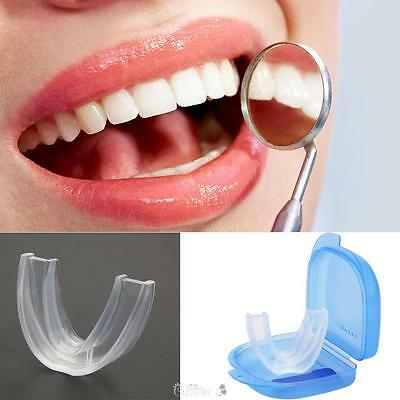 Mouth Guard Stop Snoring Sleep Aid Anti Snore Bruxism Teeth Orthodontic Tool