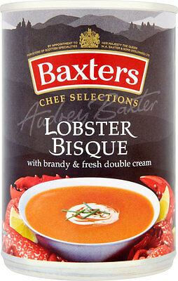 Baxters Chef Selections Lobster Bisque Soup  2 x 400g