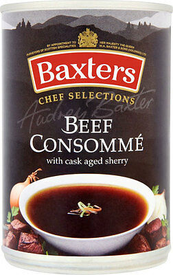 Baxters Chef Selections Beef Consommé  2 x 400g